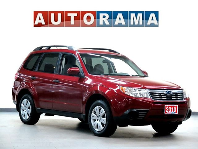 2010 subaru forester awd north york ontario used car. Black Bedroom Furniture Sets. Home Design Ideas