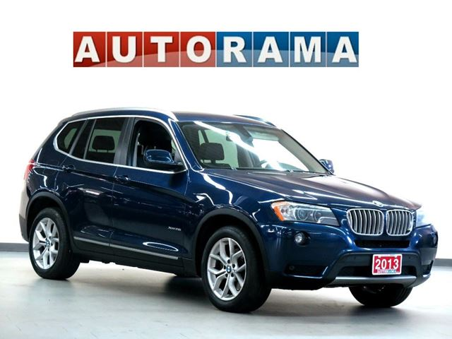 2013 BMW X3 xDrive 28i NAVIGATION LEATHER PANORAMIC SUNROOF in North York, Ontario