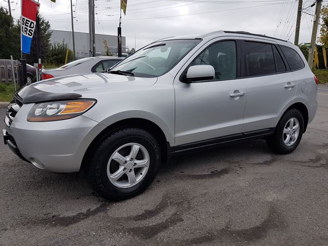 2007 hyundai santa fe gl 5pass automatic awd 144 kms silver ronys auto sales. Black Bedroom Furniture Sets. Home Design Ideas