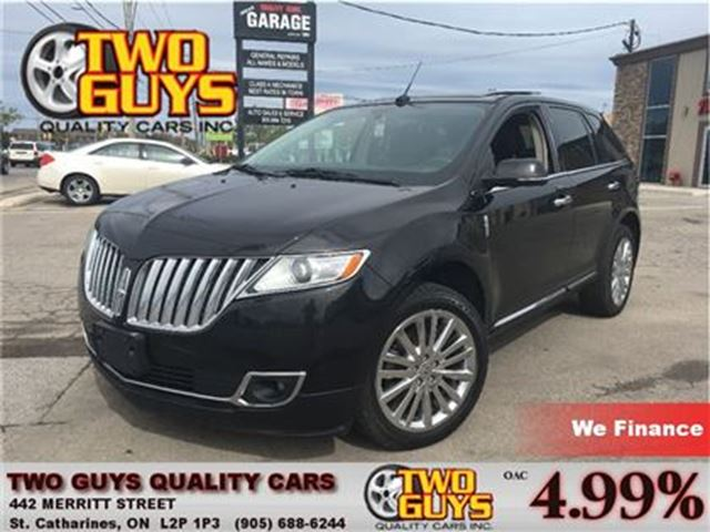 2013 LINCOLN MKX AWD ELITE TRIM NAV-LEATHER-PANOROOF-LOADED!!! in St Catharines, Ontario