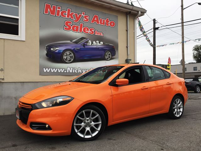 2013 dodge dart rallye multiair turbo accident free loaded sunroof 0 down 104 bi weekly. Black Bedroom Furniture Sets. Home Design Ideas