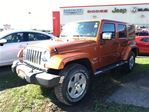 2011 Jeep Wrangler Unlimited SAHARA**LEATHER**6.5 INCH TOUCHSCREEN**HEATED SEAT in Mississauga, Ontario