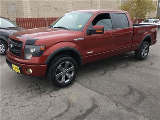 used 2014 ford f 150 ecoboost 3 5 fx4 crew cab navigation leather 4x4 burlington. Black Bedroom Furniture Sets. Home Design Ideas