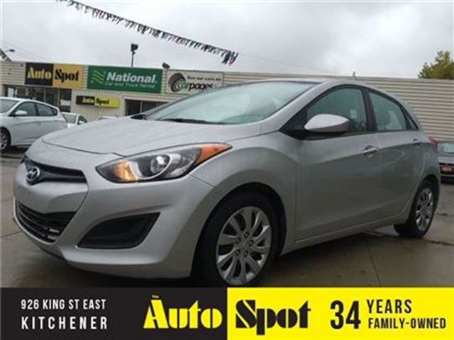 2014 HYUNDAI ELANTRA GL/CLEAROUT EVENT/PRICED FOR A QUICK SALE!! in Kitchener, Ontario