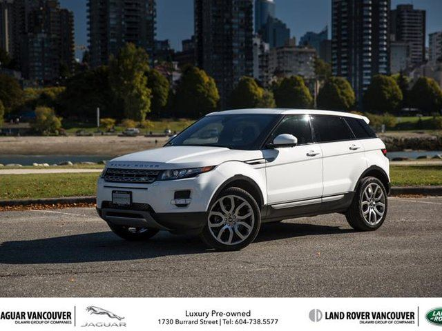 2015 land rover range rover evoque pure plus in vancouver british. Black Bedroom Furniture Sets. Home Design Ideas