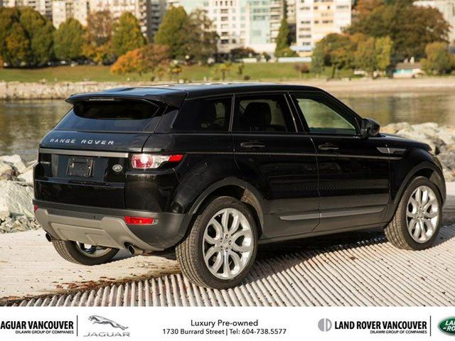 2015 land rover range rover evoque pure plus vancouver british columbia used car for sale. Black Bedroom Furniture Sets. Home Design Ideas