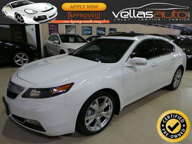 2012 ACURA TL Elite ELITE| AWD| NAVI| 19ALLOYS in Vaughan, Ontario