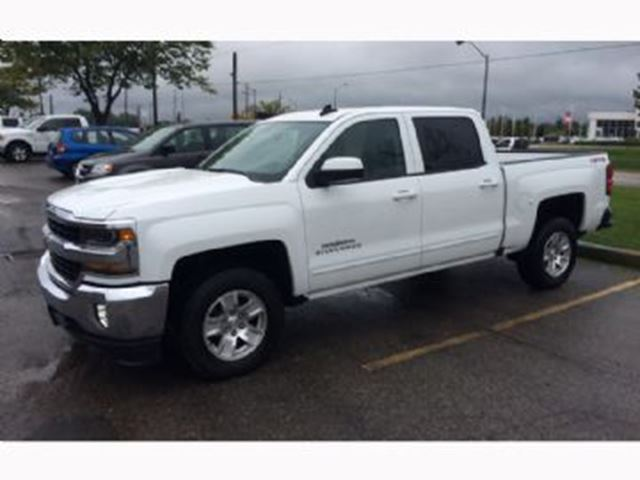 2016 chevrolet silverado 1500 4wd crew cab 143 5 lt white lease busters. Black Bedroom Furniture Sets. Home Design Ideas