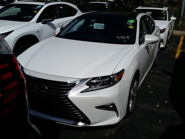 2017 lexus es 350 executive package white erin park lexus new car. Black Bedroom Furniture Sets. Home Design Ideas