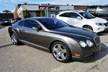 2005 Bentley Continental Continental GT/NAVIGATION/LEATHER/WOOD TRIM in Brampton, Ontario