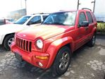 2003 Jeep Liberty LIMITED**LEATHER**SUNROOF**HEATED SEATS** in Mississauga, Ontario