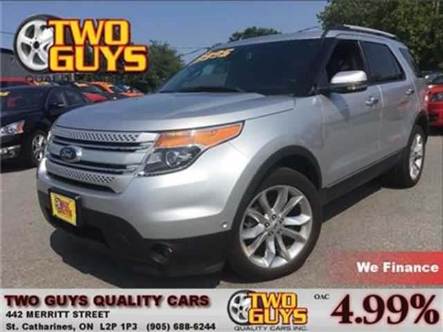 2013 ford explorer limited 4wd leather nav moonroof st catharines ontario used car for sale. Black Bedroom Furniture Sets. Home Design Ideas