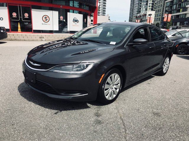 2016 CHRYSLER 200 LX, NO ACCIDENTS, LOCALLY DRIVEN, LOW RATE FINANCING, BLUETOOTH HANDS FREE WITH STRERAMING AUDIO, 5 INCH TOUCH SCREEN, FREE LIFETIME ENGINE WARRANTY in Richmond, British Columbia