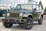 2016 Jeep Wrangler Unlimited Certified | Wrangler Unlimited Sahara | 1941 Edition | Navigation | Manual Transmission in Kamloops, British Columbia