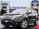 2014 Ford Explorer XLT FWD  LEATHER  NAV  PANO ROOF  TOW  $45K MSRP in Waterloo, Ontario