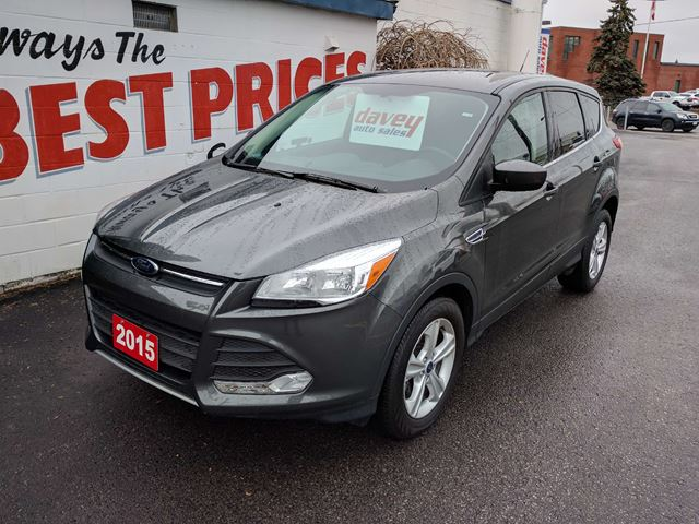 2015 ford escape se heated seats bluetooth back up camera oshawa ontario used car for sale. Black Bedroom Furniture Sets. Home Design Ideas