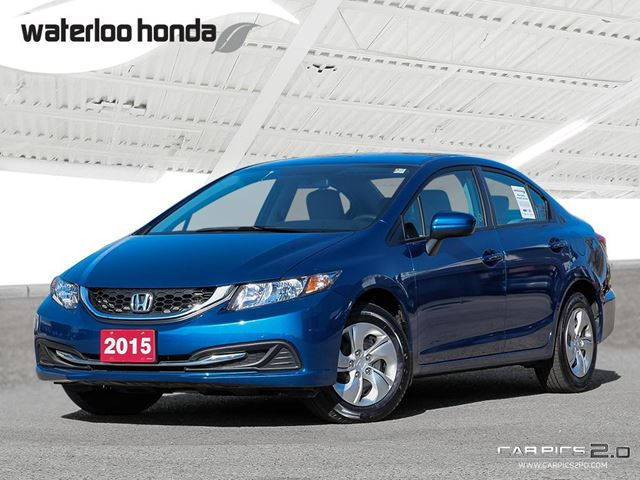 2015 honda civic lx one owner with factory warranty for Honda factory warranty