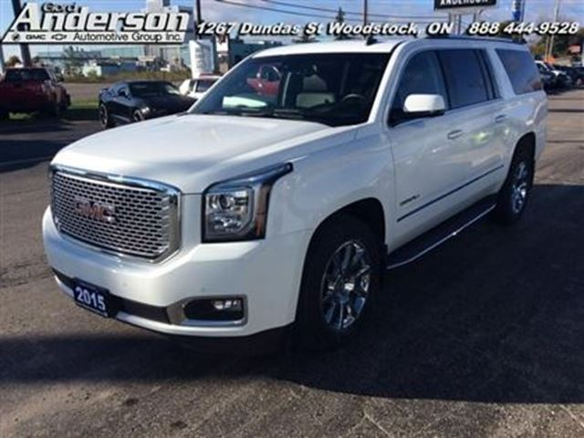 2015 gmc yukon xl denali certified woodstock ontario used car for sale 2604934. Black Bedroom Furniture Sets. Home Design Ideas