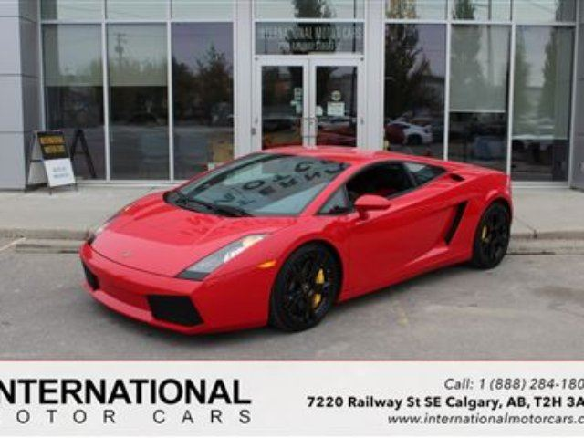 2007 LAMBORGHINI GALLARDO 6 SPEED MANUAL in Calgary, Alberta