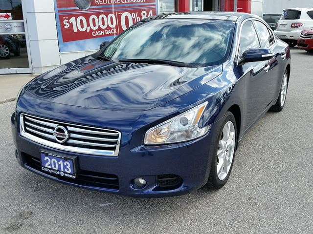 2013 nissan maxima 3 5 sv with premium pkg collingwood ontario used car for sale 2605197. Black Bedroom Furniture Sets. Home Design Ideas