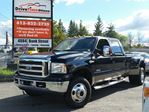 2007 Ford F-350  KING RANCH CREW DUALLY 4X4 DIESEL in Ottawa, Ontario