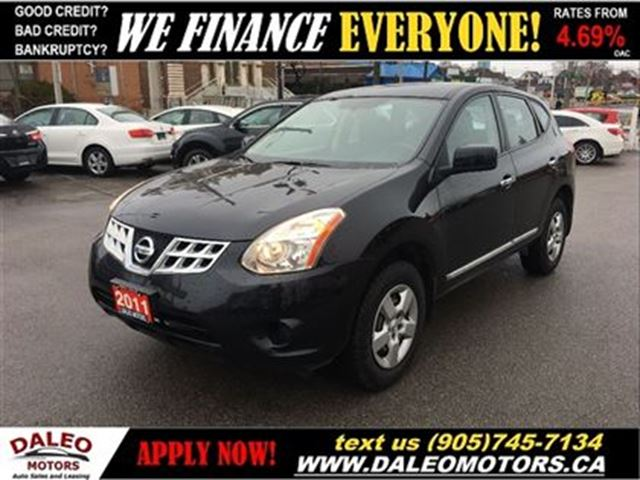 2011 Nissan Rogue S No Credit Check Lease Plans Black
