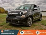 2015 Fiat 500L LOUNGE, LEATHER HEATED SEATS, NAVIGATION, SUNROOF, BLUETOOTH HANDS FREE, NO ACCIDENTS, LOW MILEAGE, FREE LIFETIME ENGINE WARRANTY! in Richmond, British Columbia