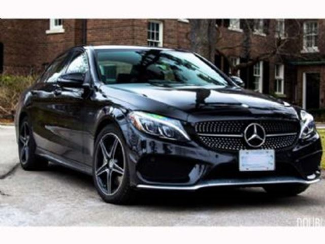 2016 mercedes benz c class 450 amg 4matic black lease for Mercedes benz c300 black rims
