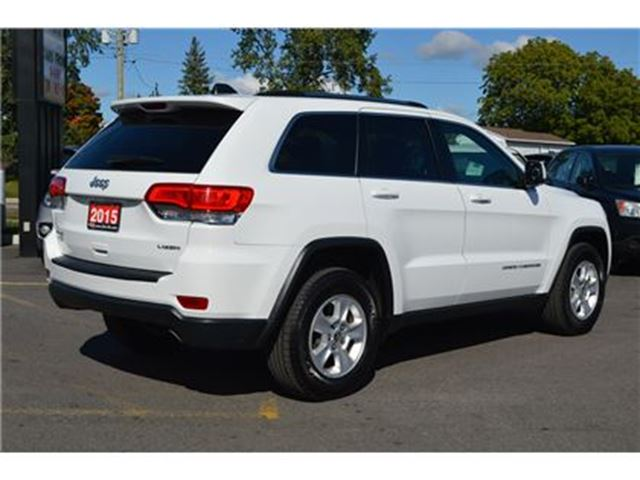 2015 jeep grand cherokee laredo 4x4 ottawa ontario used car for sale 2606082. Black Bedroom Furniture Sets. Home Design Ideas