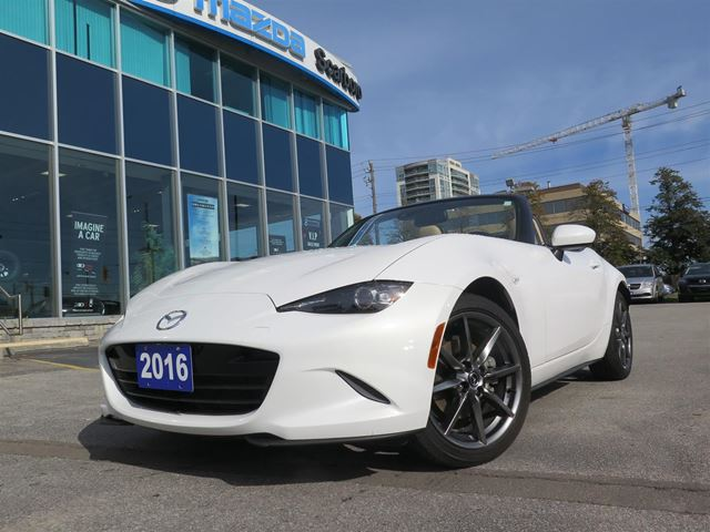 2016 Mazda MX-5 Miata  AUTOMATIC GT 1.49% FINANCE in Toronto, Ontario