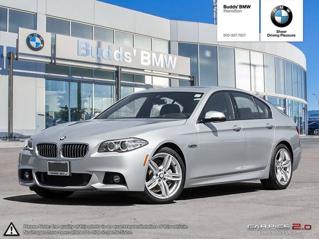 2016 bmw 5 series 528i silver budds bmw hamilton. Black Bedroom Furniture Sets. Home Design Ideas