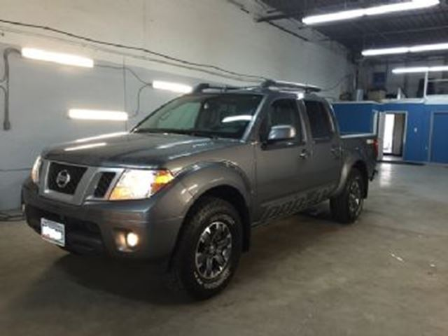 2016 nissan frontier 4wd crew cab swb auto pro 4x mississauga ontario used car for sale 2606765. Black Bedroom Furniture Sets. Home Design Ideas