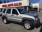 2003 Jeep Liberty 4dr Sport 4WD PL PW NO ACCIDENT LOCAL ONTARIO in Oakville, Ontario