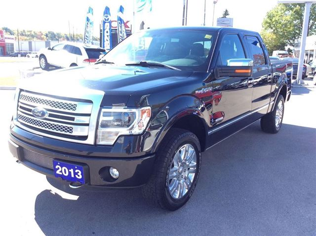 2013 ford f 150 platinum navi sunroof 4x4 crew one owner owen sound ontario used car for. Black Bedroom Furniture Sets. Home Design Ideas