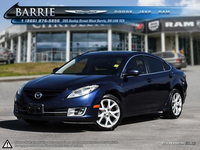 2009 mazda mazda6 gs i4 barrie ontario used car for. Black Bedroom Furniture Sets. Home Design Ideas