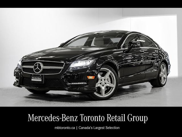 2014 mercedes benz cls550 4matic coupe obsidian black met for Mercedes benz downtown