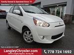 2015 Mitsubishi Mirage ES W/ VOICE COMMAND BLUETOOTH & HEATED SEATS in Surrey, British Columbia