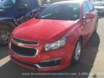 2016 Chevrolet Cruze LT in Brooks, Alberta