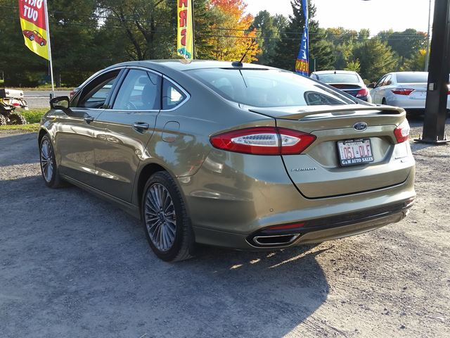 2013 ford fusion titanium rockland ontario used car for sale 2608676. Black Bedroom Furniture Sets. Home Design Ideas