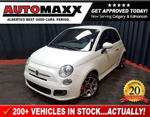 2014 fiat 500 sport white automaxx automotive. Black Bedroom Furniture Sets. Home Design Ideas