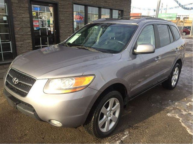 2008 Hyundai Santa Fe Limited Awd Grey Family Motors