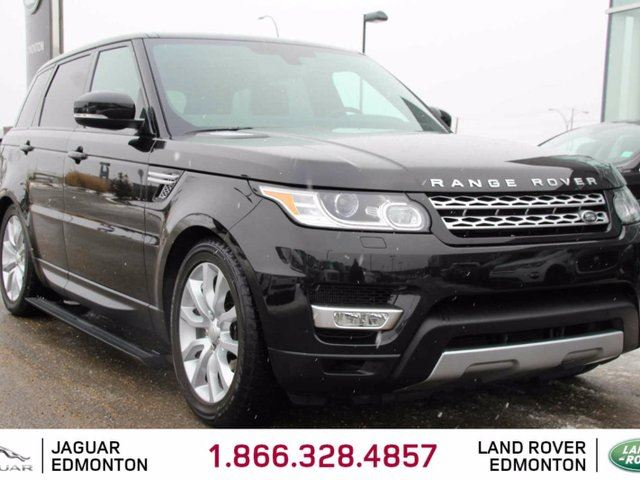 2014 LAND ROVER RANGE ROVER Sport V8 Supercharged - CPO 6yr/160000kms manufacturer warranty included until August 19, 2020! Local 2nd Owner Trade In | No Accidents | 3M Protection Applied | Power Side Steps | 2 Sets of Tires Included | Navigation | Back Up Camera | Parking Sensors | in Edmonton, Alberta