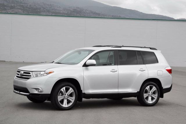2013 toyota highlander v6 limited awd 7 passenger penticton british columbia car for sale. Black Bedroom Furniture Sets. Home Design Ideas