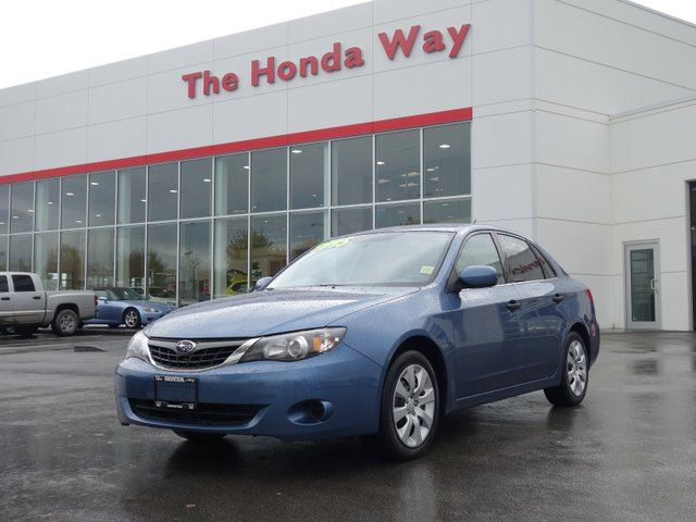 2008 SUBARU IMPREZA 2.5i - Honda Way Certified in Abbotsford, British Columbia
