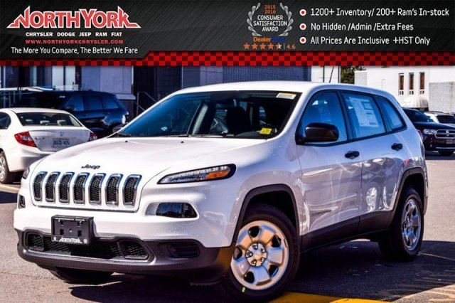 2017 Jeep Cherokee Sport in Thornhill, Ontario