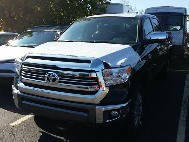 2017 Toyota Tundra 1794 Edition Black For 60400 In Mississauga