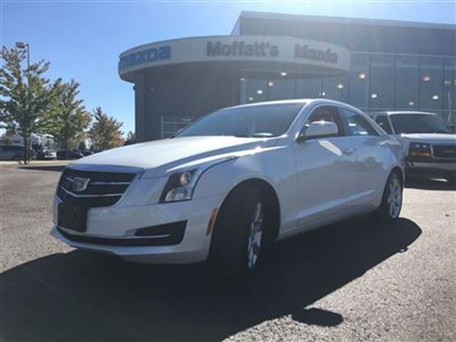 2016 CADILLAC ATS 2.0L TURBO AWD LUXURY COLLECTION in Barrie, Ontario