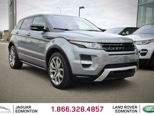2012 LAND ROVER RANGE ROVER EVOQUE Dynamic - Local One Owner Trade In | No Accidents | 3M Protection Applied | Navigation | Surroudn Camera System | Parking Sensors | Adaptive Xenon Headlamps | Panoramic Glass Roof | Power Liftgate | Heated Windshield with Rain Sensing Wipers | Heated in Edmonton, Alberta