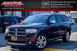 2012 Dodge Durango Crew Plus 4WD Rear-DVD Sunroof Nav Drvr Mem 1st/2nd Row Htd Seats 20Alloys  in Thornhill, Ontario