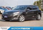 2011 Mazda MAZDA3 Sport GS LUX Leather Roof Bluetooth in Orangeville, Ontario